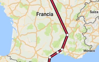 Día 26 de Julio, Miércoles – El gran día. Empieza él viaje. Barcelona-París Gare de Lyon.